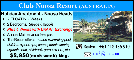 Club Noosa Resort - $2950