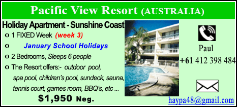 Pacific View Resort - $1950