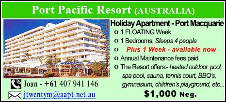 Port Pacific Resort - $1000