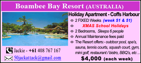 Boambee Bay Resort - $4000