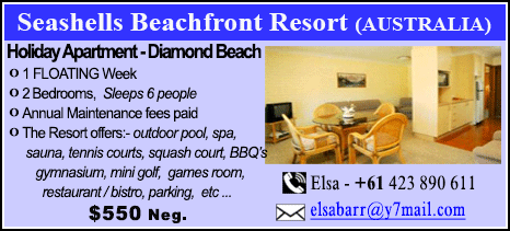 Seashells Beachfront Resort - $550