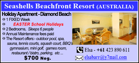 Seashells Beachfront Resort - $700