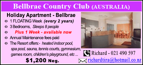 Bellbrae Country Club - $1200
