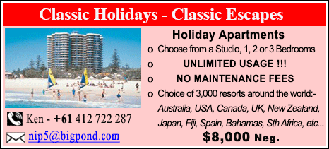 Classic Holidays - $8000