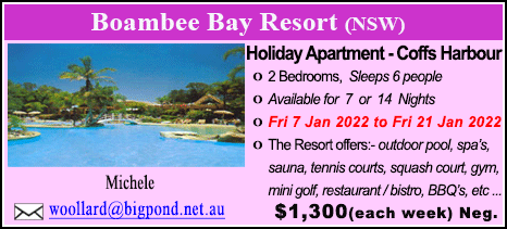 Boambee Bay Resort - $1300