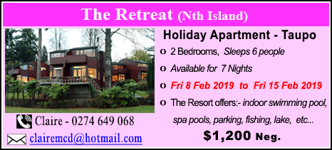 The Retreat Resort - $1200