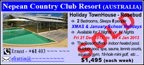 Nepean Country Club - $1495 - SOLD