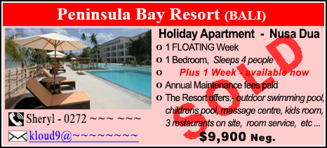 Peninsula Bay Resort - $9900 - SOLD