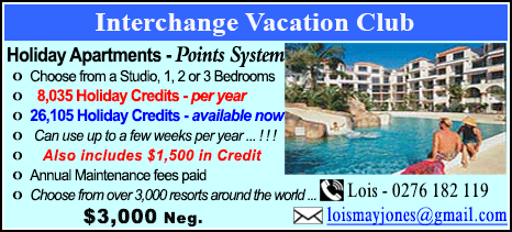 Interchange Vacation Club - $3000
