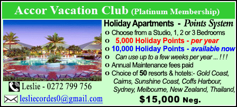 Accor Vacation Club - $15000