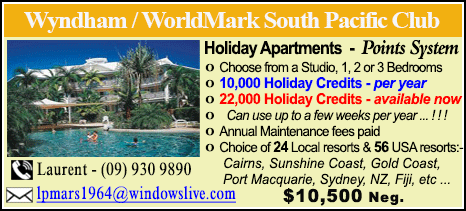 Wyndham Vacation Resorts - $17000