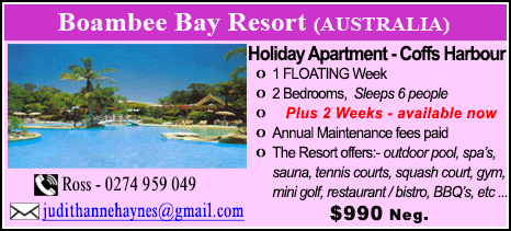 Boambee Bay Resort - $990