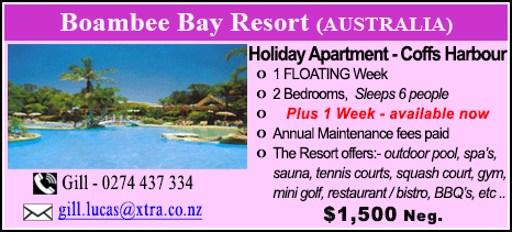 Boambee Bay Resort - $1500