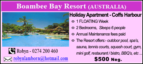 Boambee Bay Resort - $500