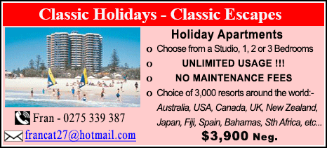 Classic Holidays - $3900