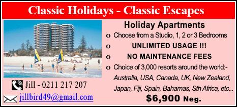 Classic Holidays - $6900