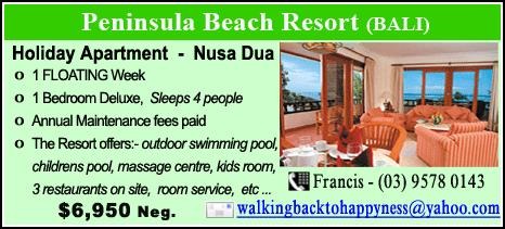 Peninsula Beach Resort - $6950