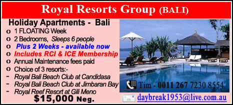 Royal Resorts Group - $15000