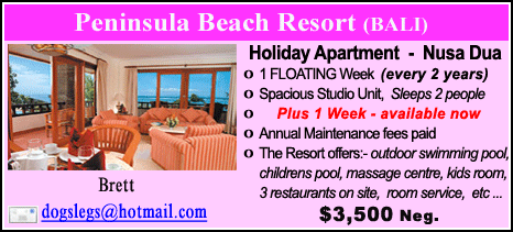 Peninsula Beach Resort - $3500